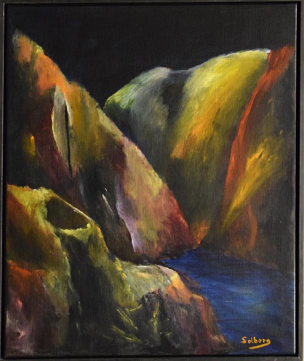 16002 Kaki Langade Gorge